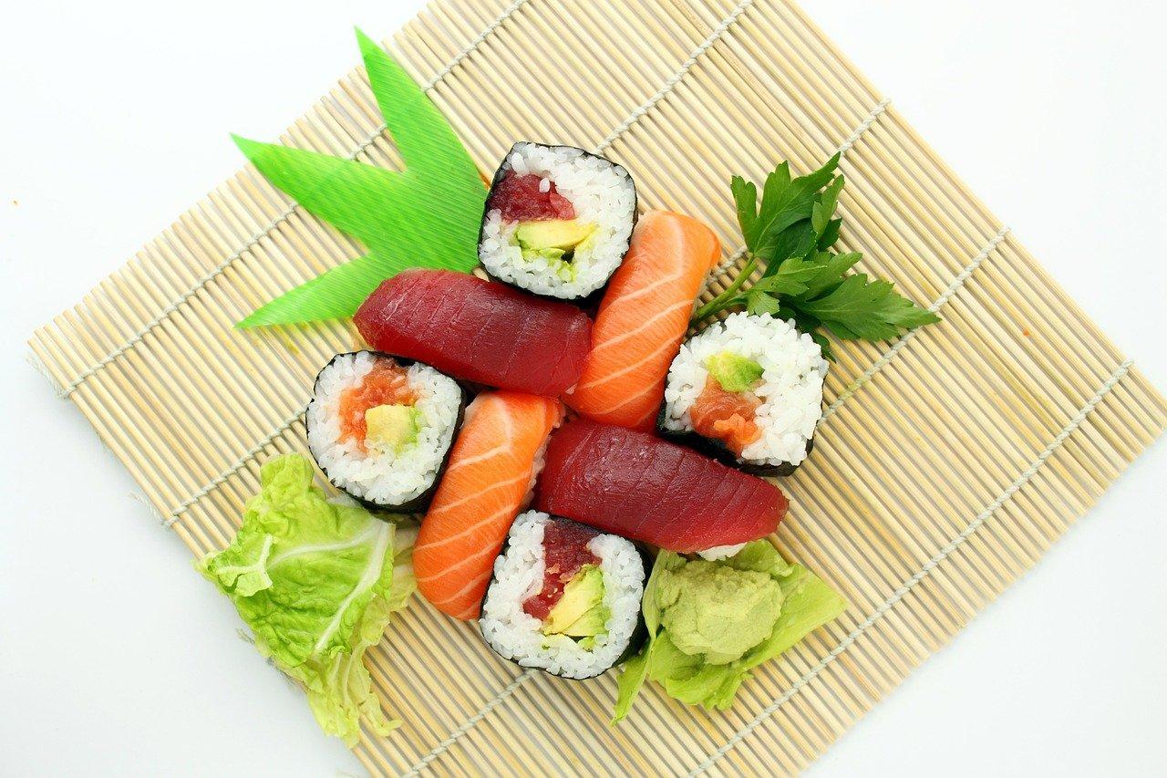 סושי ותזונה בריאה