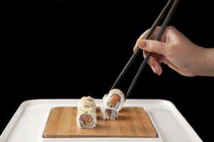סושי:כיצד לשמור על דיאטה במסעדה